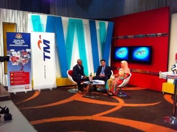 Temubual rancangan Selamat Pagi 1Malaysia