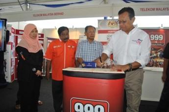 Promosi Kempen Kesedaran MERS 999 Sempena Perarakan Bot Terbesar Dunia, di Kemaman, Terengganu
