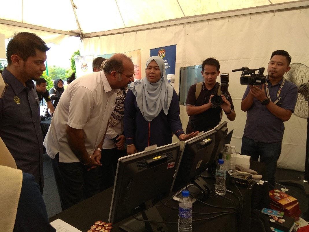 Penyertaan MERS 999, Government Specialised Services Di Program Kembara Digital Malaysia (KDM) Peringkat Negeri Perak Tahun 2019